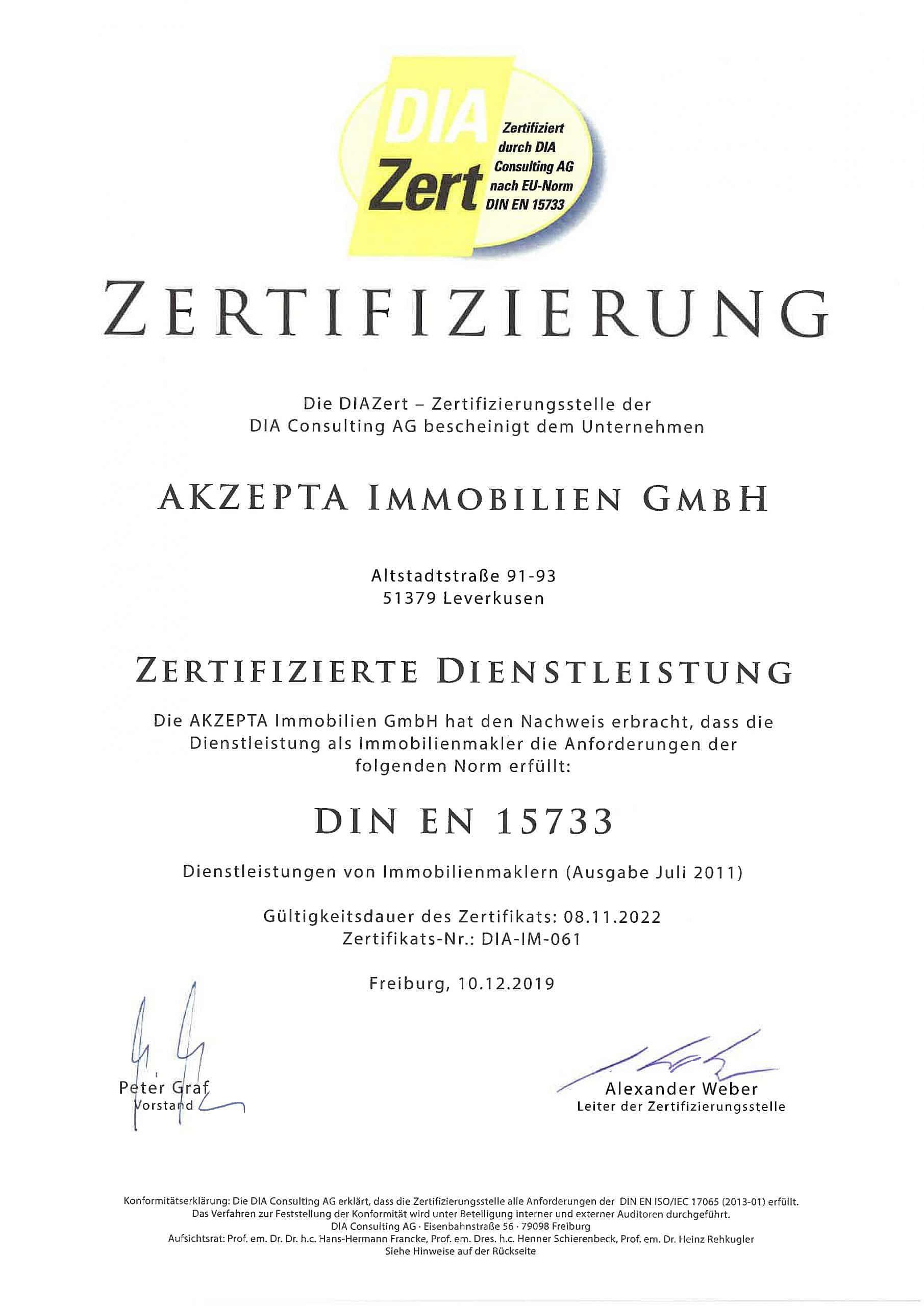 akzepta-zertifizierung