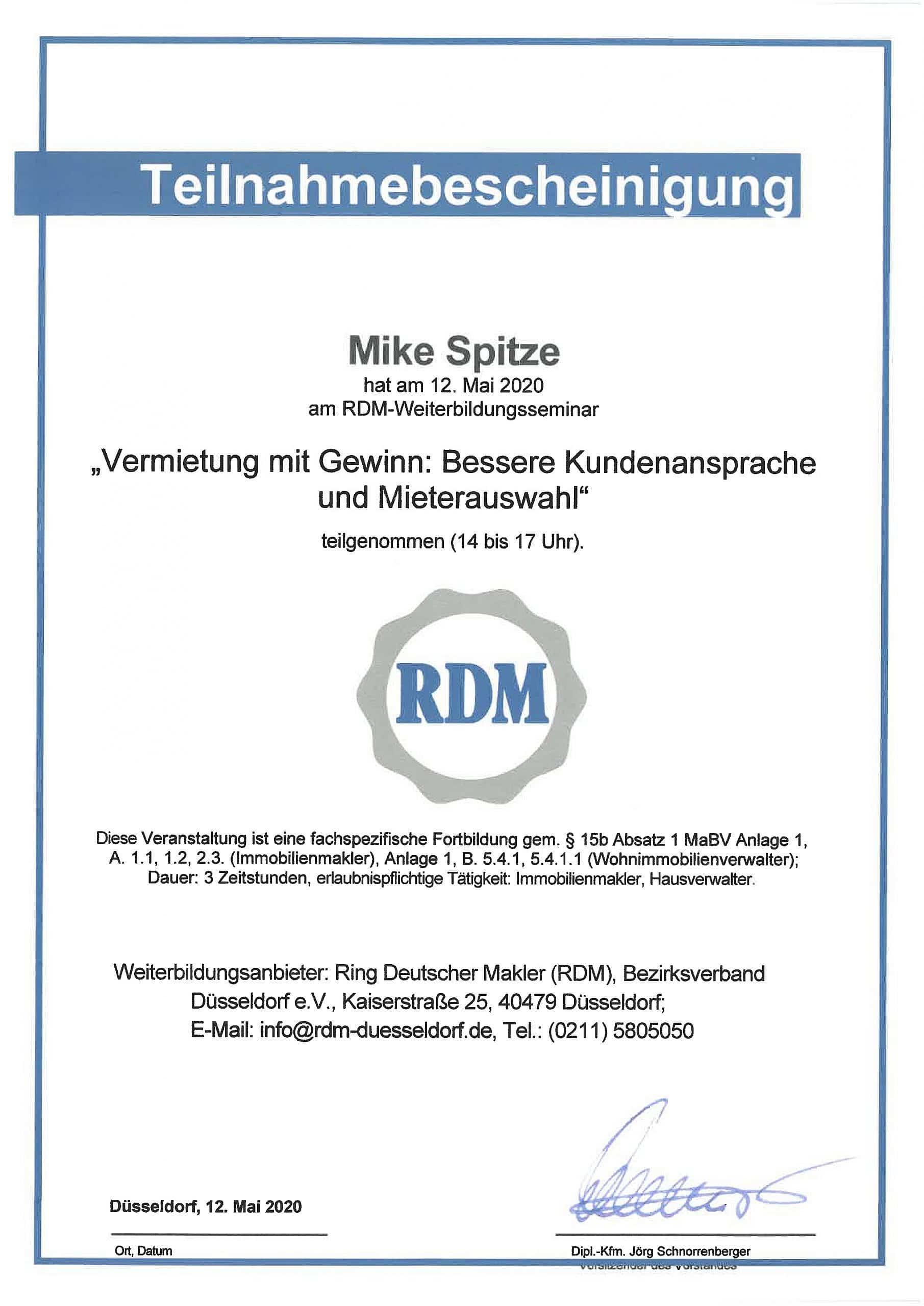 akzepta-teilnahmebescheinigung-mike-spitze